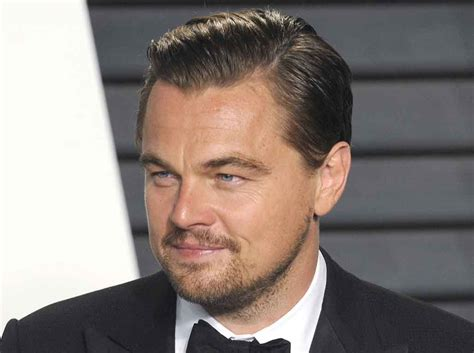 what is dicaprio s haircut called best widow s peak hairstyles men s style australia