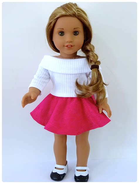 jeans pattern for american girl doll doll clothes patterns by valspierssews skater skirt doll