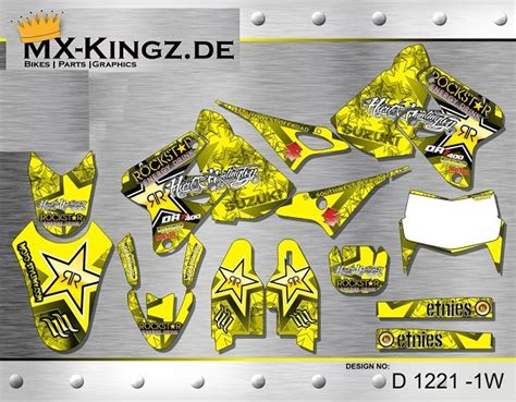 drz 400 dekor drz 400 mx kingz motocross shop