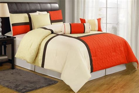 orange comforter orange bedding sets ease bedding with style