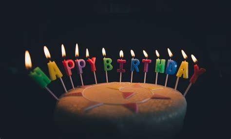 fondant cake  happy birthday candle photo  food image  unsplash