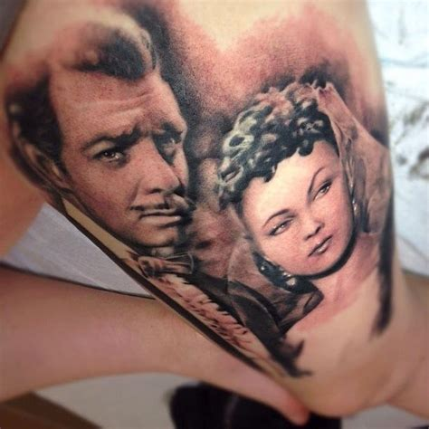 photorealistic tattoo tattoos black and gray portrait 68130