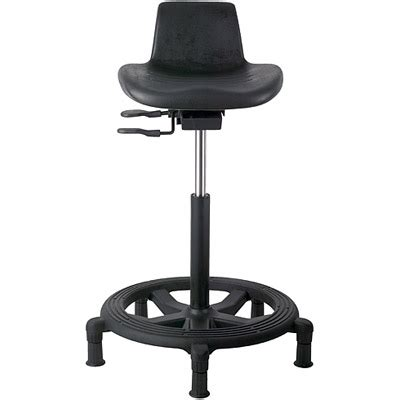 Sit Stand Work Stool by Office Master Ws15 Affordable Industrial Sit Stand Work Stool