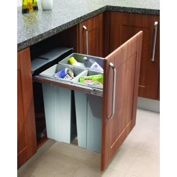 trash recycling cabinet remodel ideas