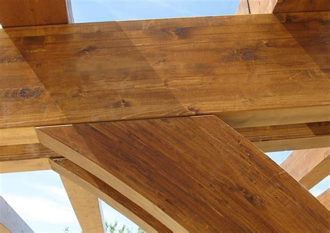 soffitti in legno lamellare affordable il legno lamellare un prodotto industriale e si