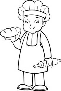 baker 6 jobs printable coloring pages