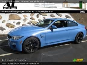 yas marina blue metallic 2016 bmw m4 coupe black