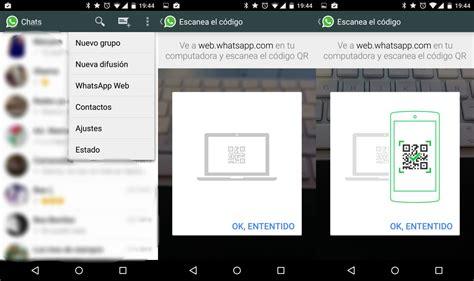 how to use whatsapp web with whatsapp android app descarga e instala whatsapp para web apk