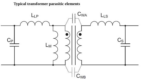 transformer parasitic inductance efficiency in power conversion circuits power electronic tips