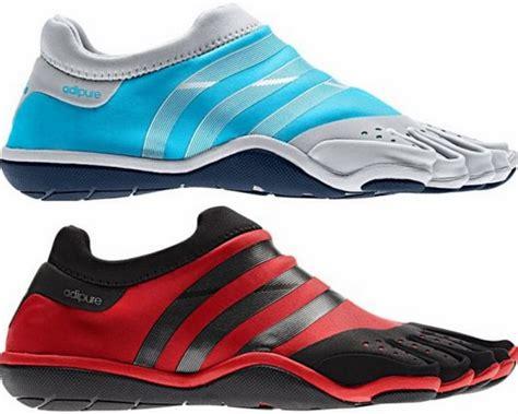 adidas toe shoes adidas toe shoes meet the adipure trainer barefoot shoe