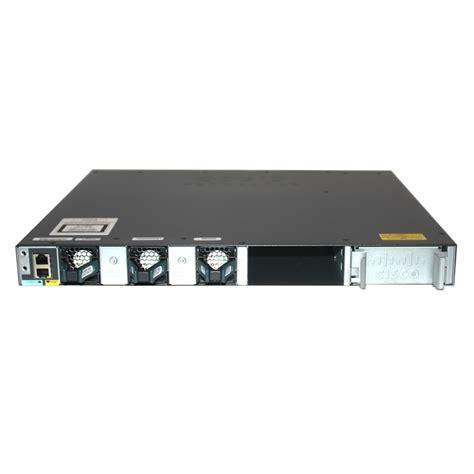 Switch Cisco 3650 cisco catalyst 3650 ws c3650 48fd l poe switch