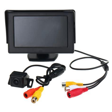 Monitor Lcd Vision Kamera 4 3 inch tft lcd car rear view monitor vision backup