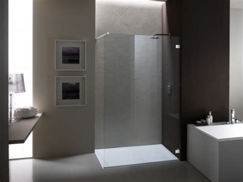 doccia senza box cabina doccia su misura senza telaio