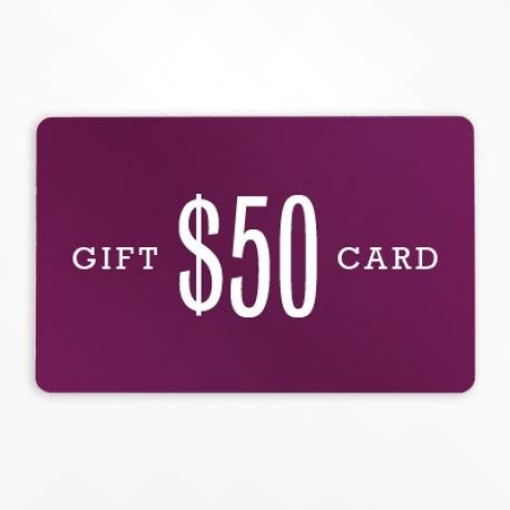 Gift Card 50 - 50 printable gift certificate lotus beauty lounge