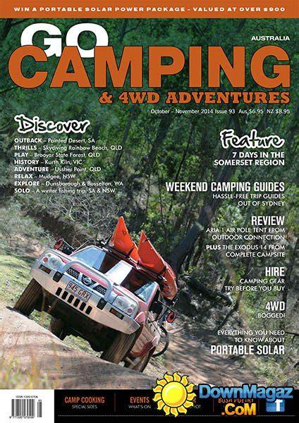 camping australia octobernovember