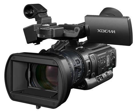 sony hd sony brings hd 4 2 2 workflow to xdcam camcorder line