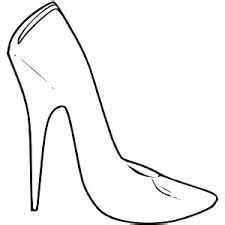High Heel Shoes Outline by Zentangle Outlines Templates On Bird Outline Butterfly Template And Outline