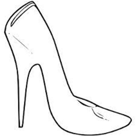 High Heel Shoes Outline by 1000 Images About Zentangle Outlines Templates On Butterfly Template Leaf