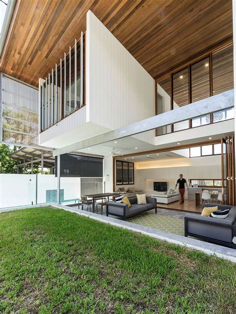 backyard house backyard house in brisbane opens up a light filled nirvana