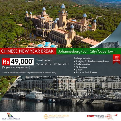 new year china tour package johannesburg sun city cape town package new