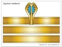 pharaoh crown template crown craft www pixshark images galleries