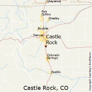 best places to live in castle rock colorado