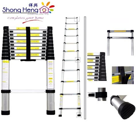 Tangga Alumunium Ladder 3 8 M Tangga Telescopic original everlas ds08 8 steps sided ladder tangga