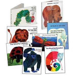 Florplaner Eric Carle Board Book Set Set Of 8