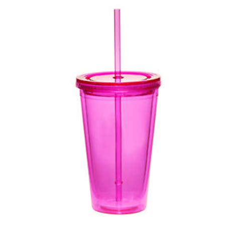 Tumblers Keep Cup Cocoa 8oz 16 oz wall acrylic tumbler with straw pool cup 8 colors available ebay