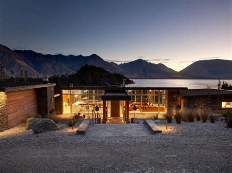 house design queenstown architectural lakeside living in queenstown caandesign