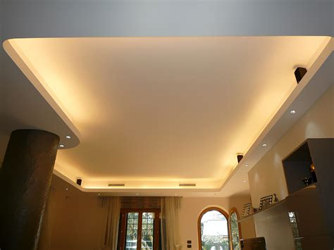 controsoffitto a led illuminazione led cartongesso 171 cartongesso