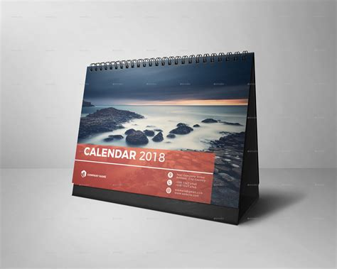 desk calendar desk calendar 2018 by kreatbox graphicriver