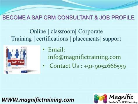 sap crm tutorial pdf sap crm online training in south africa authorstream