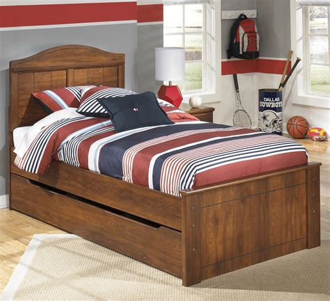 trundle bedroom sets trundle bed frame bed signature signature design by ashley barchan twin panel bed with