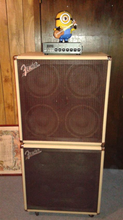 custom bass cabinets no longer available fender custom shop rumble bass amp