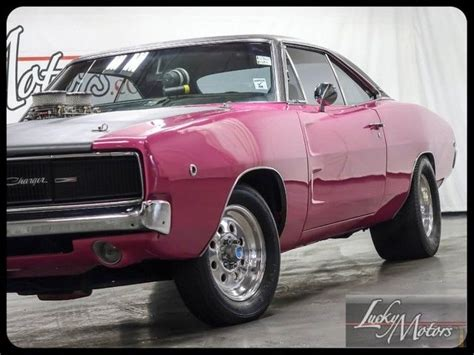 pink charger for sale 1968 dodge charger 440ci panther pink for sale