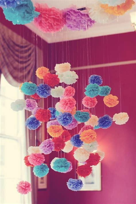 como decorar dulceros con papel china las 25 mejores ideas sobre decoraciones de papel crep 233 en