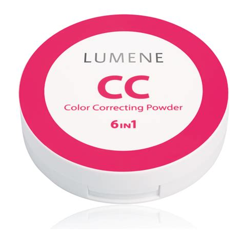 color correcting powder cc lumene color correcting powder