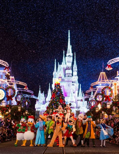 Walt Disney World Giveaway - 14 must do winter holiday experiences at walt disney world