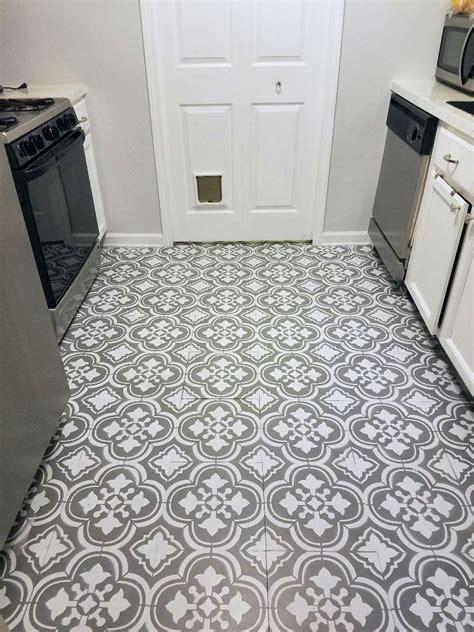 how to paint linoleum flooring painted linoleum floors painted linoleum and stenciling