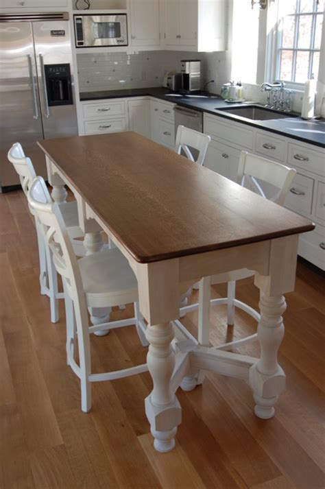 kitchen island with table top stools for made from