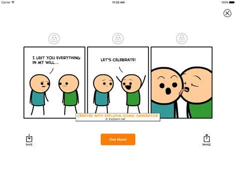 Meme Cartoon Generator - cyanide and happiness random comic generator apps 148apps
