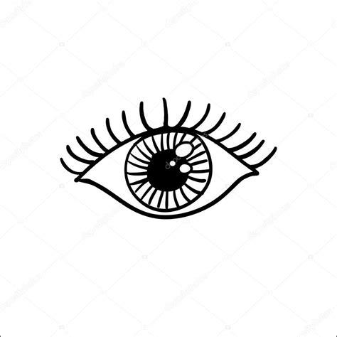 imagenes de ojos en dibujo dibujo de ojo monocromo archivo im 225 genes vectoriales