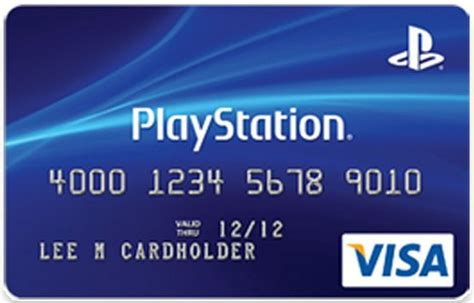 How To Redeem A Visa Gift Card - sony introduces playstation credit card with psn rewards and points