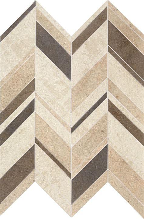 chevron floor tile daltile limestone collection fusion brun large chevron