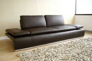 Contemporary Brown Leather Sofa An Adjustable Back Sofa An Integral Part Of Contemporary Home Furniture Knowledgebase