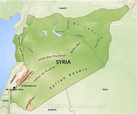 syrian desert syrian desert map my blog