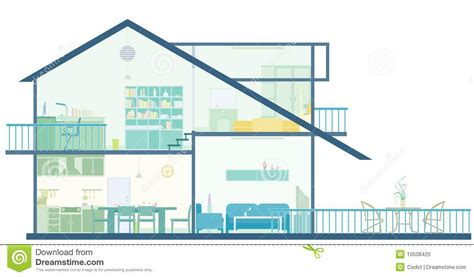 House Plan Stock Photo Image 10508420