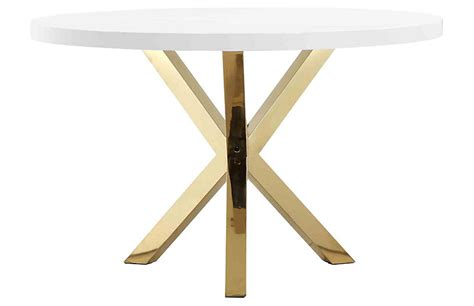 white and gold table l white and gold dining table dining tables ideas