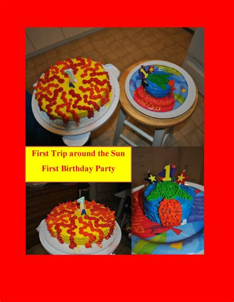Pudding Hello Orange And Blue Theme 17 best images about time around the sun birthday ideas on sun cake